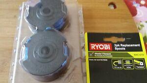 Ryobi Line Trimmer Replacement Spools - 2 Pack Suits RYOBI RLT5030S & RLT5030SG