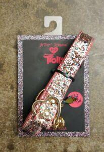 Betsey Johnson - Troll Designer Glitter Bling Bling Pet Leash