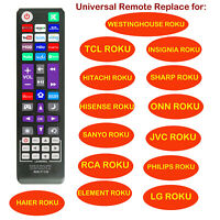 Universal Remote fit for All Roku TV(JVC/RCA/PHILIPS/ELEMENT/LG/TCL), Bose Wave