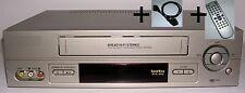 Hier: 1 JAHR GARANTIE 6 Kopf HiFi Stereo VHS Videorecorder gewartet + gereinigt