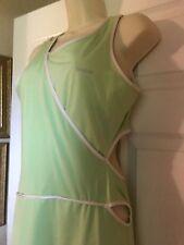 REEBOK Sexy women's cut out tennis Dress Apple Green Size L
