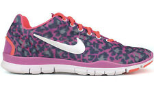 Nike Free TR Fit 3 Print 5.0 Leopard Pink Size 38 US 7 Flyknit 555159-601 Focus FK