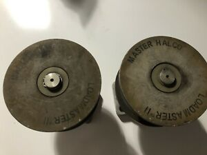 """2 Master Halco Loadmaster II Nylon Gate Rollers for 4"""" Gate Posts NO BOLTS"""