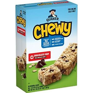 Quaker Chewy Granola Bars Chocolate Chip 58 Pack