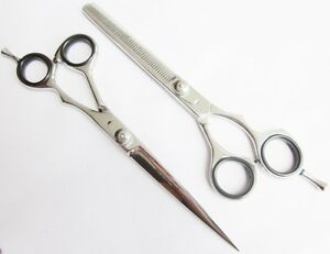 """Professional Hairdressing Scissors Thinners Barber Thinning Shears SET 7"""" JAPAN"""