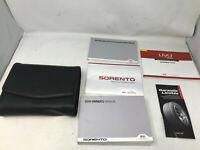 2016 Kia Sorento Owners Manual Handbook Set with Case OEM Z0A1846