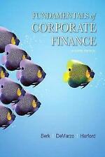 Fundamentals of Corporate Finance (4th Edition) (Berk, DeMarzo & Harford, The Co