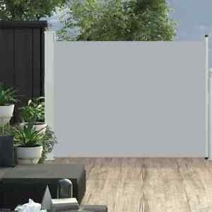 Tenda Laterale Retrattile per Patio 140x500 cm in Poliestere vari colori