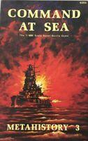 Metagaming: Command at Sea. MetaHistory #3. 1:4800 Naval War Battle Game 5203
