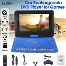 """9.8""""/13.8""""/16"""" inch Portable DVD Player EVD TV USB Game Rotate Screen Remote"""
