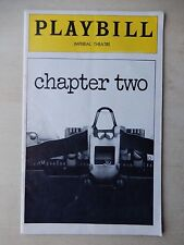 July 1978 - Imperial Theatre Playbill - Chapter Two - David Groh - Gillette