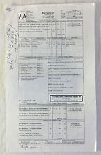 2006 movie RENDITION set used CALL SHEET+location map~Peter Sarsgaard