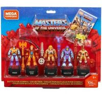 Mega Construx Masters of the Universe Battle For Eternia Collection 106pc
