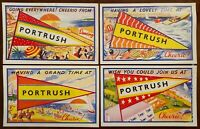 4 x  Portrush Co Antrim Postcards 1960's Northern Ireland
