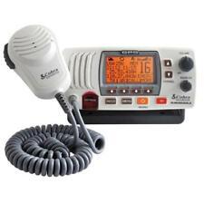 Cobra Mr-F77Wgps White Marine Band Mobile Vhf Radio 25Watt Built-In Gps Receiver