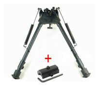 9-13'' Rifle Precision Hunting Shooting Bipod Adjustable Swivel Gun Rest Adapter