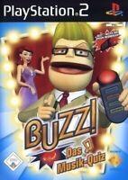 PS2 / Sony Playstation 2 - Buzz!: Das Musik-Quiz DEUTSCH mit OVP