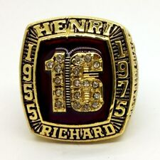 HENRI RICHARD Montreal Canadiens Ring #16 hall of fame sport team US size 11