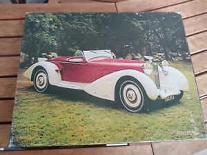 jigsaw puzzle Gatsby's World 1937 Delage Car Vintage Automobile Greenbacked