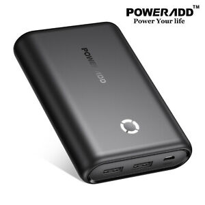 15000mAh Portable Power Bank Dual USB Charging Battery Charger for iPhone 12 11