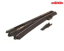 Märklin 24711 C-Gleis Schlanke Weiche links R1.114, 6 mm +++ NEU in OVP