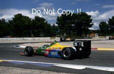 Thierry Boutsen Benetton B188 French Grand Prix 1988 Photograph