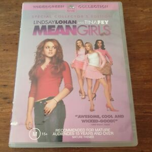 Mean Girls DVD R4 Like New! FREE POST