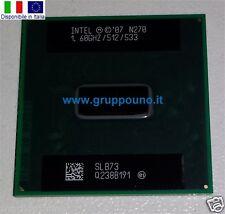Intel N270 1.60GHZ/512/533 SLB73 CPU Processor Nuovo New Disp. in Italia
