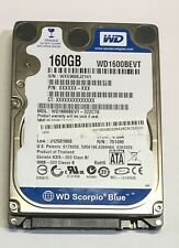 HARD DISK WD 160GB -1600BEVT-22ZCT0 FOR LAPTOP-TESTED
