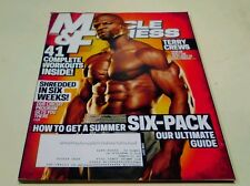 Muscle & Fitness Magazine June 2011 Terry Crews Shredded Workouts Hollywood