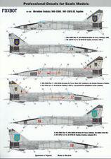 Foxbot Decals 48036 1/48 Ukrainian Foxbats: MiG-25RB Decal Set