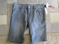 NEW I-JEANS BY BUFFALO SPENCER SLIM FIT SHORTS MENS 32 STRETCH GRAY FREE SHIP