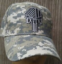 "Punisher In my ""Sight"" Rifle Scope Thin Solid Lines Camouflage Baseball Cap Hat"