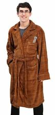 DR WHO MATT SMITH 11TH DOCTOR FLEECE ADULT BATH ROBE 2 POCKET SONIC SCREWDRIVER