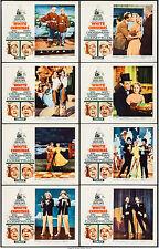 """Movie Posters White Christmas 1961 8 Lobby Cards 11""""x14"""" VF 8.0 Bing Crosby"""