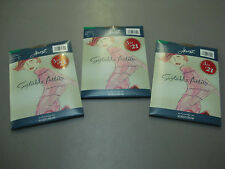 NWT Hanes Nordstrom The Sheer Illusion  Pantyhose Two Plus Natural 3 Pair