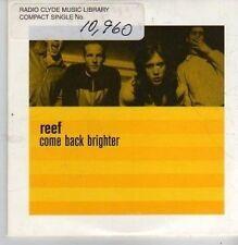 (CB4) Reef, Come Back Brighter - 1996 DJ CD