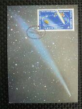 ROMANIA MK SPACE COMET HALLEY MAXIMUMKARTE CARTE MAXIMUM CARD MC CM c1351
