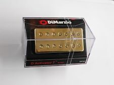 DiMarzio D Activator 7 String Bridge Humbucker W/Gold Cover DP 720