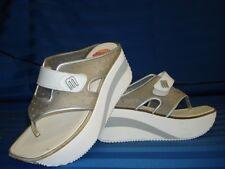 Melissa  Brazilian Shoes Rock Thong Wedge White sz 9