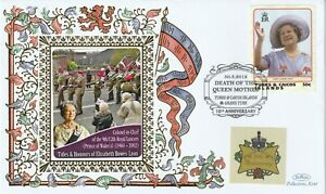 TURKS & CAICOS ISLANDS 2012 QUEEN MOTHER AS CIC PRINCE OF WALES REGIMENT COVER