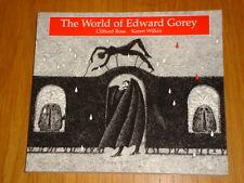 WORLD OF EDWARD GOREY ABRAMS CLIFFORD ROSS KAREN WILKIN< 9780810990838