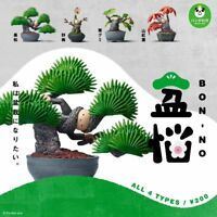 Takara Tomy Panda's ana Bon-no Potted Plant model Collection Completed Set 4pcs