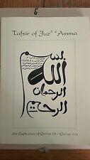Tafsir of Juz' 'Amma