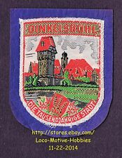 LMH PATCH Woven Badge  DINKELSBUHL 1000 City  DIE TAUSENDJAHRIGE STADT  Germany