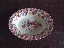 """Copeland Spode """"Spode's Bouquet"""" New Condition Vegetable Serving Bowl Oval"""