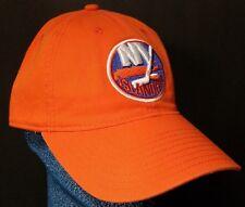 NEW Reebok New York Islanders Orange Cap Embroidered Logo Adjustable Buckle