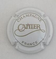 capsule champagne CATTIER n°2 blanc et or