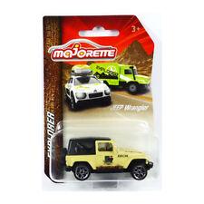 Majorette 212057601 Jeep Wrangler Beige - Explorer 1:64 3 Inch NEW !°