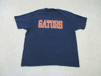 Champion Florida Gators Shirt Adult Extra Large Blue Orange Football Mens 90s B3